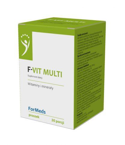 F-VIT MULTI- witaminy i minerały –ForMeds, 30porcji