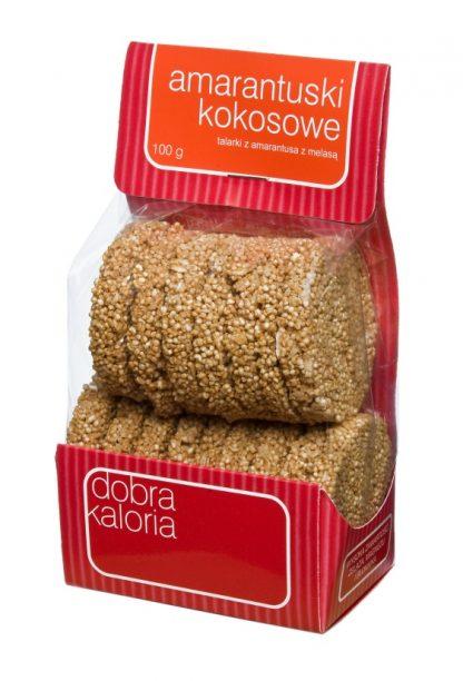 Amarantuski kokosowe –Kubara, 100g