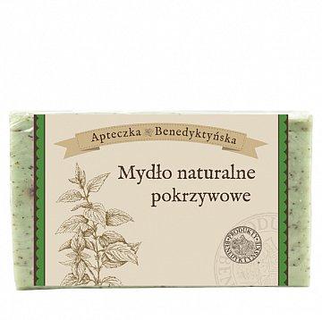 Mydło naturalne pokrzywowe –ProduktyBenedyktyńskie, 130g