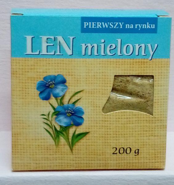 Len mielony –Kubara, 200g