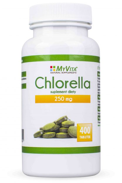 Chlorella- detoks, regeneracja –MyVita, 400tabletek,1000tabletek