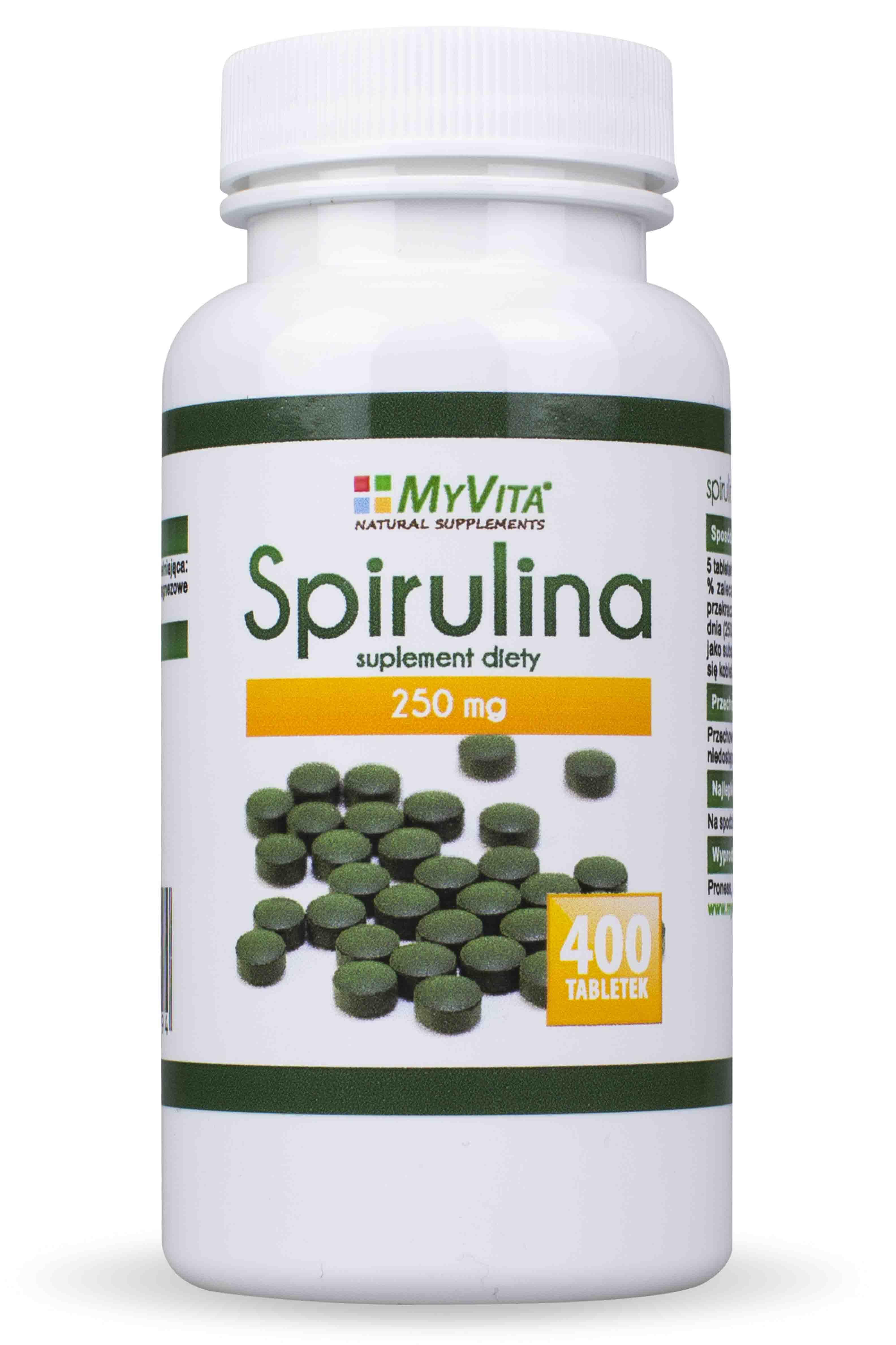 Spirulina bio z ote zdrowie for Spirulina w tabletkach