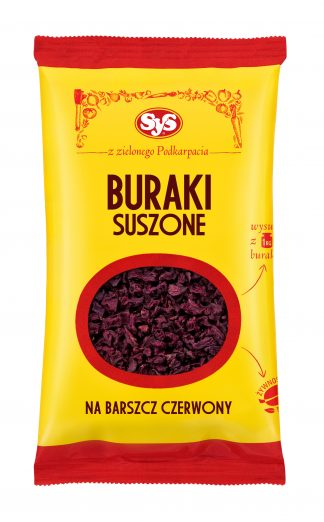 Burak suszony – SYS, 100 g – SYS, 100 g