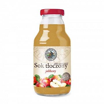 Sok jabłkowy tłoczony –ProduktyBenedyktyńskie, 330ml
