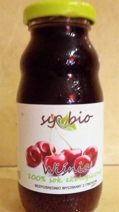 Sok z wiśni 100% ekologiczny –Symbio, 200ml