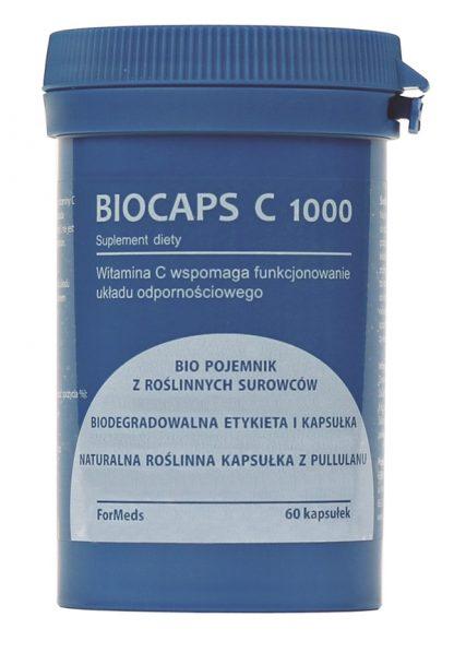 Witamina C  100% naturalna- BIOCAPS C 1000 –ForMeds, 60kapsułek