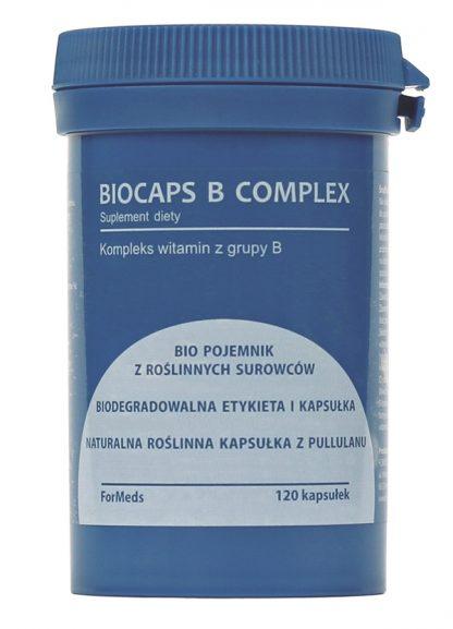 Kompleks witamin z grupy B- 100% naturalne kapsułki –ForMeds, 120kapsułek