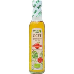 Ocet jabłkowy Bio 5% – BIONATURO, 250 ml – BIONATURO, 250 ml
