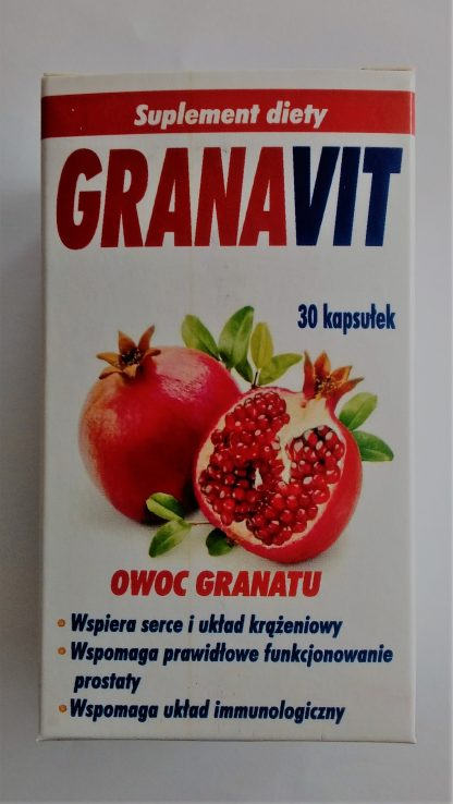 Owoc granatu –Planta-Lek, 30kapsułek