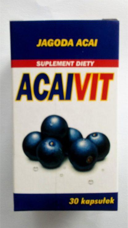 Jagody Acai- silny przeciwutleniacz –Planta-Lek, 30kapsułek