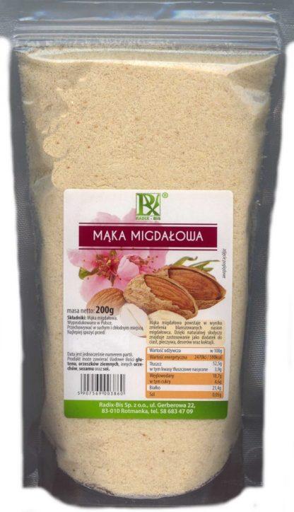 Mąka migdałowa –RadixBis, 200g