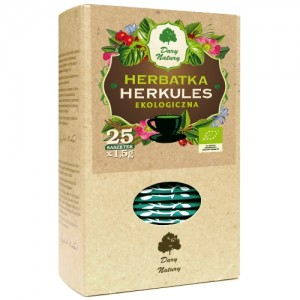 Herbatka Eko Herkules –DaryNatury, 25saszetekpo1,5g