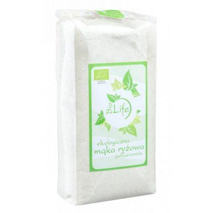 Mąka ryżowa pełnoziarnista BIO –BioLife, 500g