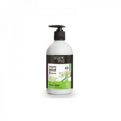 Mydło do rąk nawilżające miętowy jaśmin –OrganicShop, 500ml