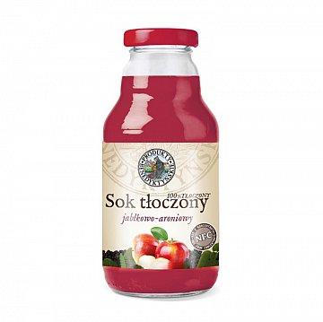 Sok tłoczony jabłkowo-aroniowy –ProduktyBenedyktyńskie, 330ml