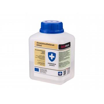 DMSO Dimetylosulfotlenek- wszechstronne działanie –Biomussp.zo.o., 500ml