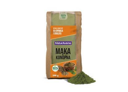Mąka konopna –NaturAvena, 500g