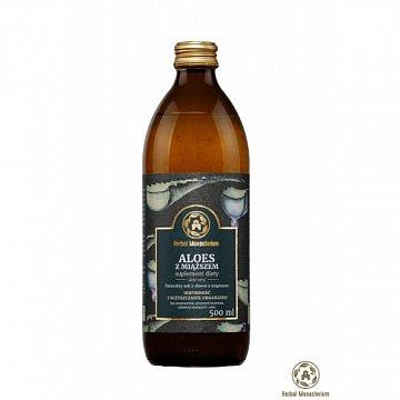 Sok z aloesu z miąższem –ProduktyBenedyktyńskie, 500ml