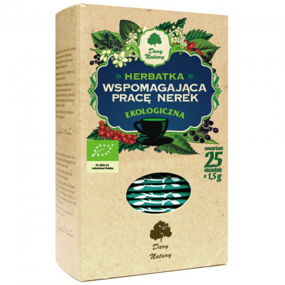 Herbatka wspomagająca pracę nerek –DaryNatury, 25saszetekpo1,5g