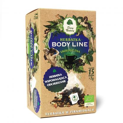 Herbatka Body Line EKO –DaryNatury, 15saszetekpo2g