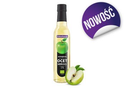Ocet jabłkowy 5% kwasowości –NaturAvena, 250ml