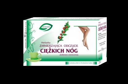 Herbatka zmniejszająca odczucie ciężkich nóg –Elanda, 20saszetekpo1,5g