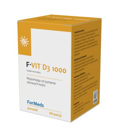 F-VIT D3 1000 –ForMeds, 60porcji