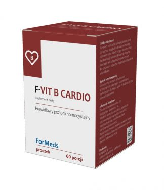 F-VIT B CARDIO –ForMeds, 60porcji