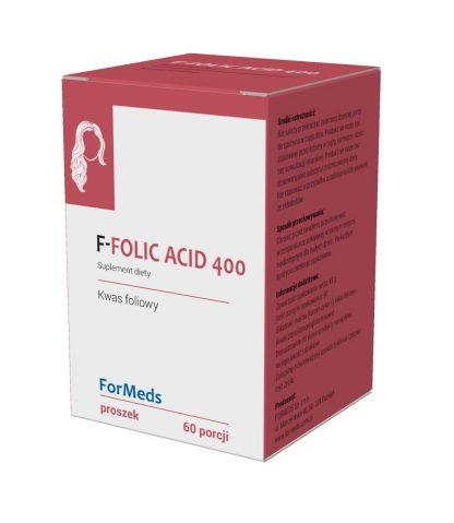 F-FOLIC ACID 400- kwas foliowy –ForMeds, 60porcji