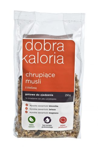 Chrupiące musli z melasą –Kubara, 250g