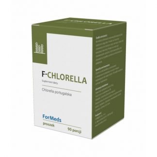 F-CHLORELLA- detoks, regeneracja –ForMeds, 90porcji –ForMeds, 90porcji