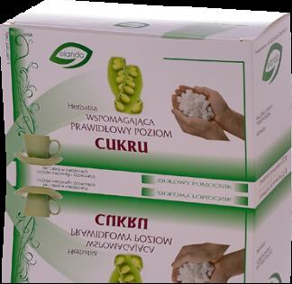 Herbatka wspomagająca prawidłowy poziom cukru –Elanda, 20saszetekpo1,5g –Elanda, 20saszetekpo1,5g