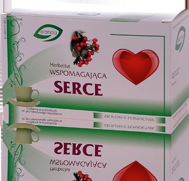 Herbatka wspomagająca serce –Elanda, 20saszetekpo1,5g