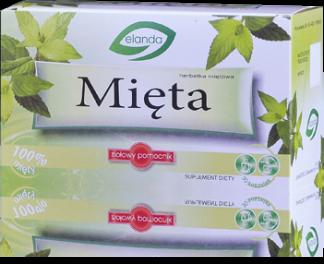 Herbatka Mięta –Elanda, 30saszetekpo1,5g –Elanda, 30saszetekpo1,5g