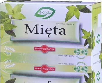 Herbatka Mięta –Elanda, 30saszetekpo1,5g