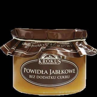 Powidła jabłkowe bez dodatku cukru –Krokus, 310g –Krokus, 310g