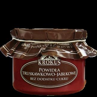 Powidła truskawkowo-jabłkowe bez dodatku cukru –Krokus, 310g –Krokus, 310g