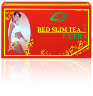 Herbatka Red Slim Tea 3 Extra –Elanda, 20saszetekpo1,5g