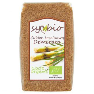 Ekologiczny cukier trzcinowy Demerara –Symbio, 500g –Symbio, 500g
