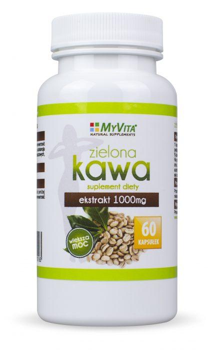 Zielona kawa –MyVita, 60kapsułek,250kapsułek