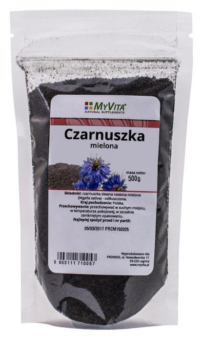 Czarnuszka mielona –MyVita, 150g,500g