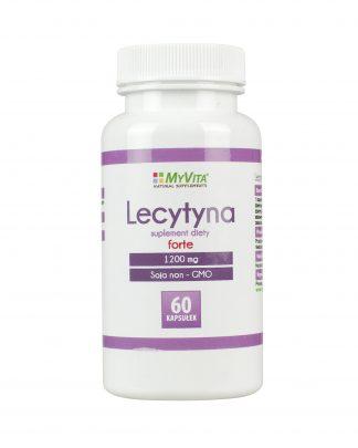 Lecytyna forte 1200 mg –MyVita, 60tabletek –MyVita, 60tabletek