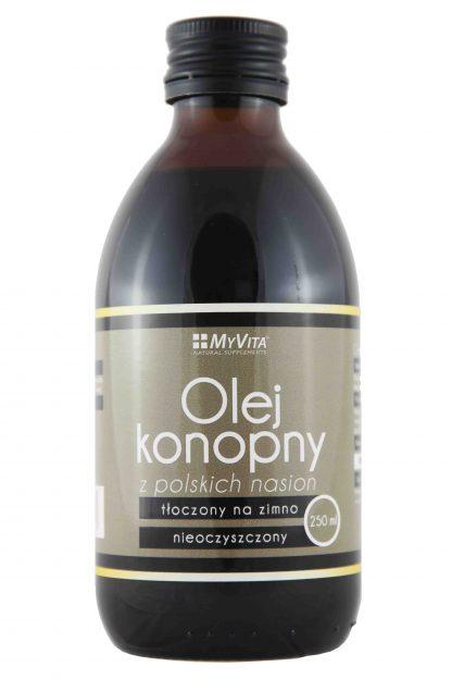 Olej konopny z polskich nasion –MyVita, 250ml