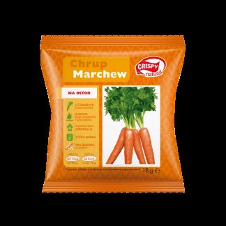 Chipsy z marchwi z naturalnymi przyprawami –CrispyNatural, 18g