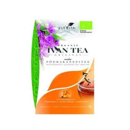 Herbata Ivan Tea z rokitnikiem- 100% oryginalna- dla mężczyzn –Estvita, 50g