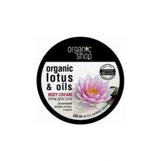 Krem do ciała Indyjski Lotos –OrganicShop, 250ml