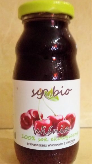 Sok z wiśni 100% ekologiczny –Symbio, 200ml –Symbio, 200ml
