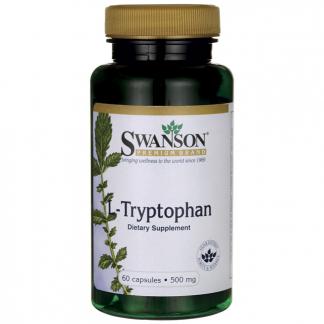 L-tryptofan 500 mg- stop depresji –Swanson, 60kapsułek –Swanson, 60kapsułek