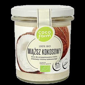 Miąższ kokosowy 100% Bio –CocoFarm, 280g –CocoFarm, 280g
