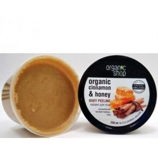 Scrub do ciała miód cynamon –OrganicShop, 250ml –OrganicShop, 250ml